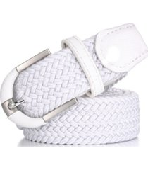mio marion men's casual braided stretch belt