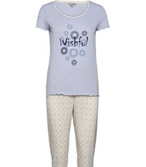 decoy py w/print pyjamas blå decoy