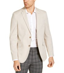 unlisted by kenneth cole men's slim-fit stretch chambray sport coat, created for macy's