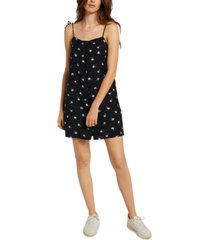 volcom juniors' coco tie-strap dress