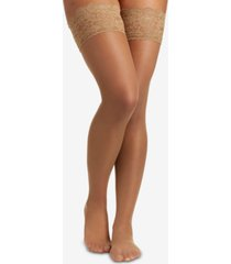 berkshire women's french lace top thigh high pantyhose 1363