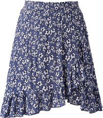 noella noella april kjol small navy flower
