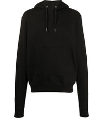 youths in balaclava pouch pocket hoodie - black