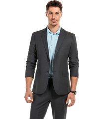 blazer suit rome gris new man