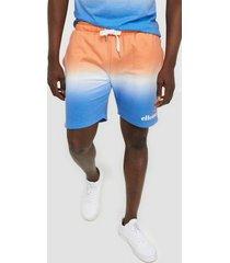 ellesse el silvan fade shorts orange
