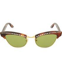 49mm cat eye sunglasses