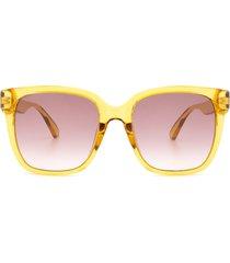 gucci gucci gg0715sa yellow sunglasses