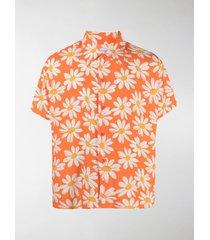 erl boxy daisy print shirt