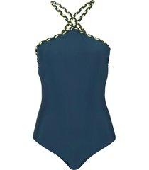 costume intero (blu) - bodyflirt