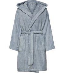 light velour robe morgonrock badrock blå gant
