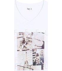 camiseta m/c con screen feel