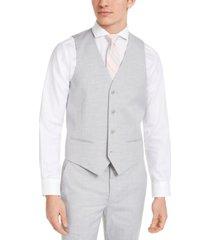 alfani men's slim-fit stretch solid suit vest, created for macy's