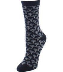 natori fretwork socks, women's