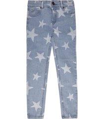 stella mccartney star motif jeans