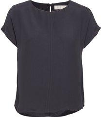 mira top t-shirts & tops short-sleeved blauw busnel
