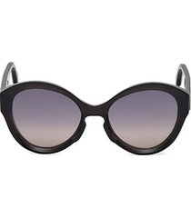 oversized injected sunglasses with gradient lenses/56mm