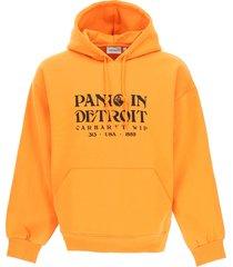 carhartt panic print hoodie