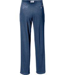 bandplooi-jeans model fred met veiligheidszak van eurex by brax denim