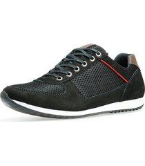 sapatênis dhl calçados casual neway florense preto