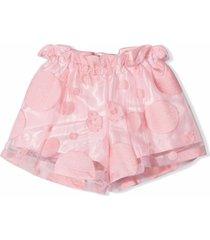 simonetta rose-pink shorts
