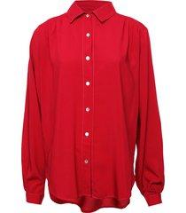camisa fucsia donadonna