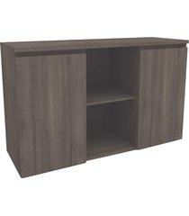 armário para escritório baixo 2 portas office 2011 3013 carvalho - kappesberg
