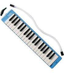 melodica con estuche lyon france qm-37a azul 37 teclas