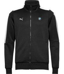bmw mms t7 track jacket sweat-shirt tröja svart puma