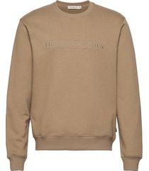 tana emb sweat-shirt trui beige tiger of sweden jeans