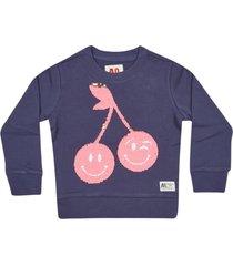 ao76 sequin embroidered sweatshirt