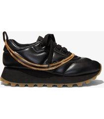 proenza schouler puffy chain sneakers nero/black 38