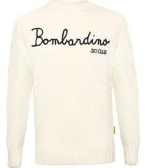 mc2 saint barth bombardino ski club blended cashmere sweater