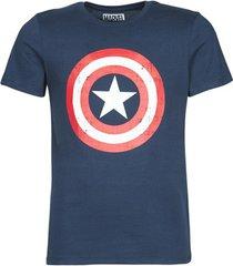 t-shirt korte mouw yurban captain america logo