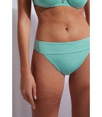 calzedonia high waist brazilian swimsuit bottom indonesia eco woman green size 3