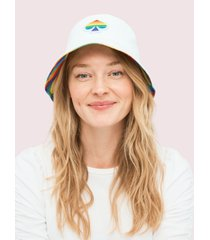 kate spade new york pride reversible bucket hat