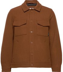 hacienda jacket wollen jack jack bruin makia