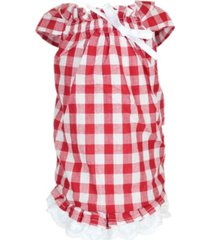 parisian pet tunic country gingham dog dress
