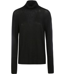 jil sander plain turtleneck pullover