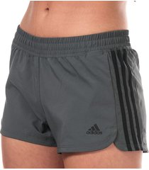 womens pacer 3-stripes woven shorts