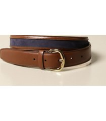 salvatore ferragamo belt salvatore ferragamo leather and nubuck belt