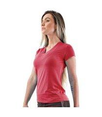 camiseta cajafit manga curta dry fit vermelho