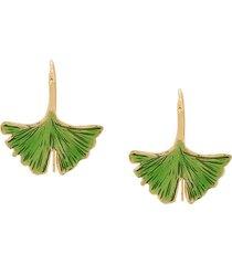 aurelie bidermann tangerine earrings - green