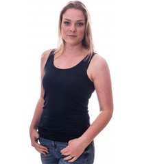 claesens women singlet navy blue ( cl 8018 )