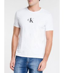 camiseta ckj mc estampa ck one - branco - pp