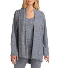women's long sleeve dolman knit jacket