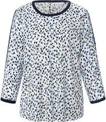 blouse met 3/4-mouwen van gerry weber wit