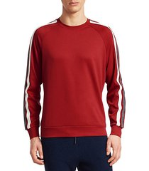 modern side-stripe sweatshirt
