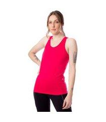 regata feminina estilo do corpo nadador dryfit pink