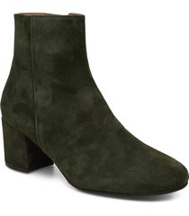 booties 3405 shoes boots ankle boots ankle boots with heel grön billi bi