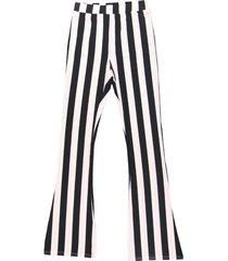 colourful rebel broek 10049 striped peached